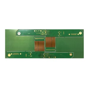 0.1mm Hole Rigid-Flexible PCB Board Gerber board