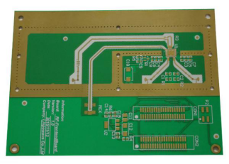 Integrated Press Hole Rogers PCB (2)