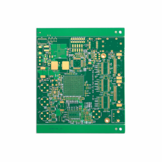 Two Layer Fr4 PCB Green Soldermask Layout