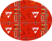Red Solder Mask Flexible PCB Fabrication