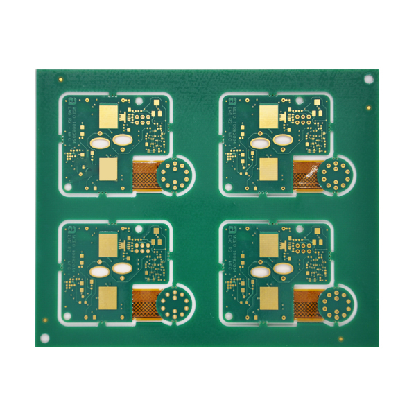0.2mm Hole PCB Mixed Compression Rigid -Flexible PCB Board
