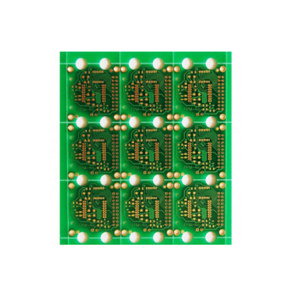 Double Layers Fr4 Circuit Board Green Soldermask Pcb