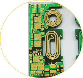 High Density Online Rogers Pcb Circuits Board