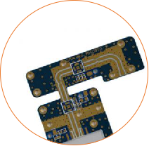Resin Plug Hole Rogers Double Sided Pcb Circuits Board (3)