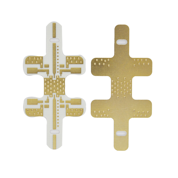 Resin Plug Hole Rogers Double Sided Pcb Circuits Board