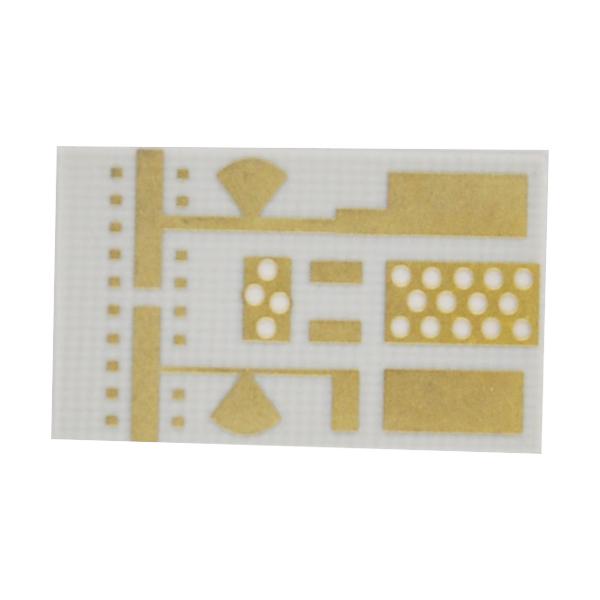 Resin Plug Hole Rogers Single Sided PCB Circuits Board