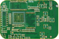Gold Plating Rogers PCB Low Volume PCB (2)