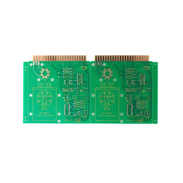 Gold Plating Rogers PCB Low Volume Pcb