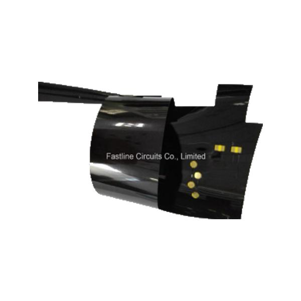 Black Solder Mask Flexible PCB Prototype