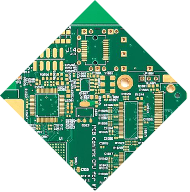 Two Layer Fr4 PCB Green Soldermask Layout  (2)