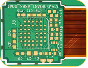 0.15mm Hole PCB Rigid -Flexible PCB Board for hobbyist
