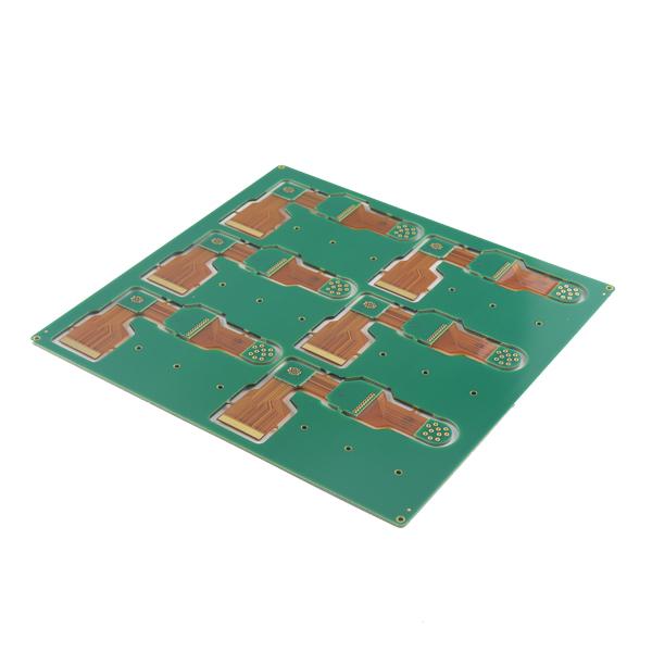 0.2mm Hole PCB Rigid -Flexible PCB Board Layer Stack