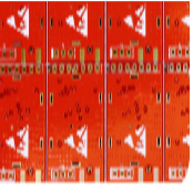 Red Solder Mask Flexible PCB Fabrication (2)