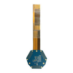 0.1mm Hole Rigid-Flexible PCB Board Gerber board (2)