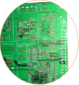 Resin Plug Hole Rogers Single Sided PCB Circuits Board (3)